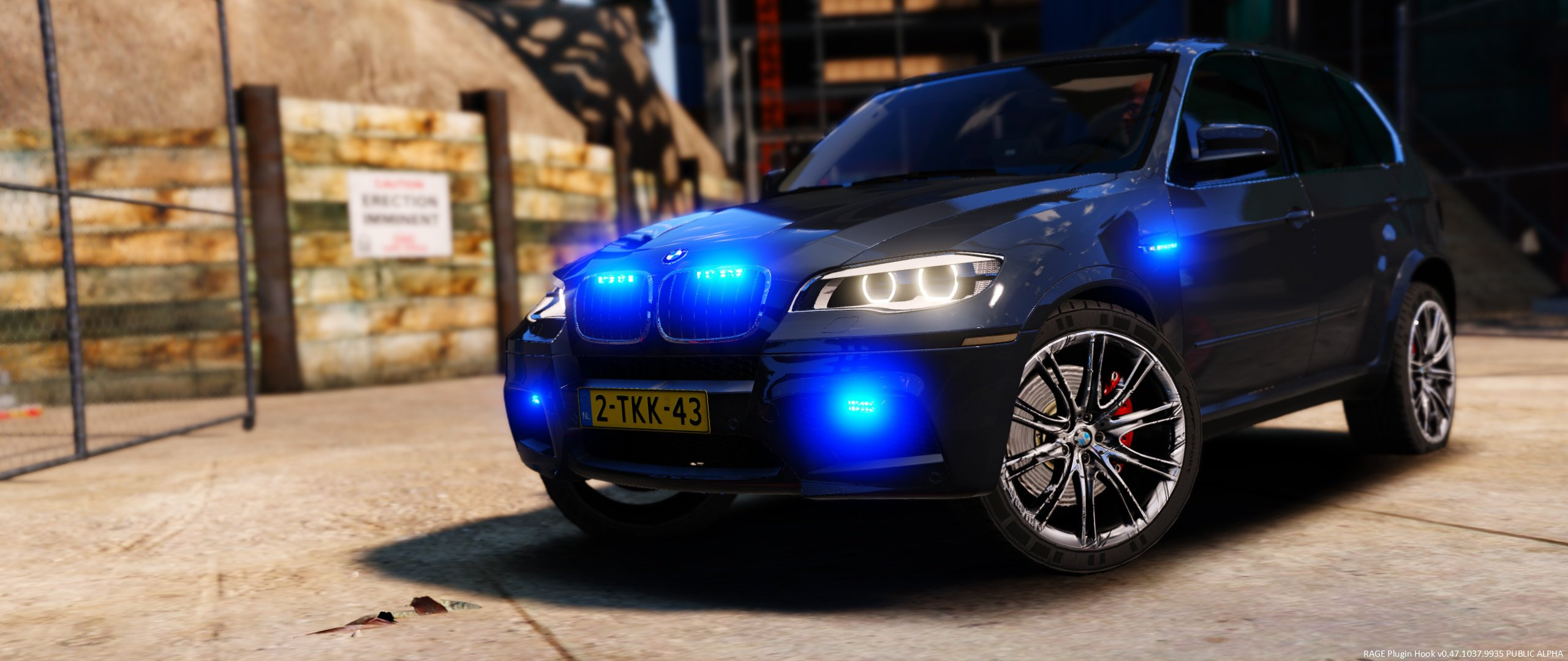 BMW X5 Unmarked Dutch Police - GTA5