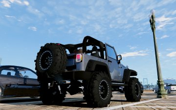 Jeep Wrangler Unlimited 3 Door JK 2013 [Add-On | Tuning] - GTA5