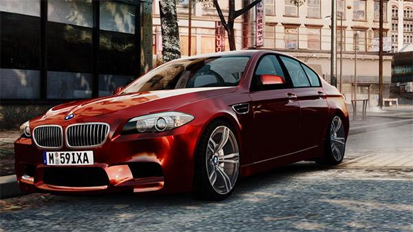 BMW M5 F10 2012 par 9lXA