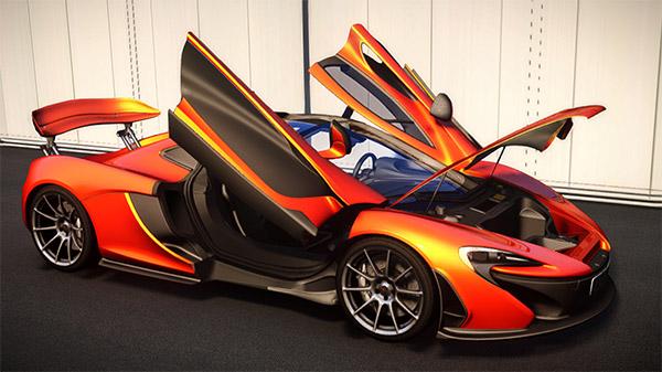 McLaren P1 2013 par AIGE